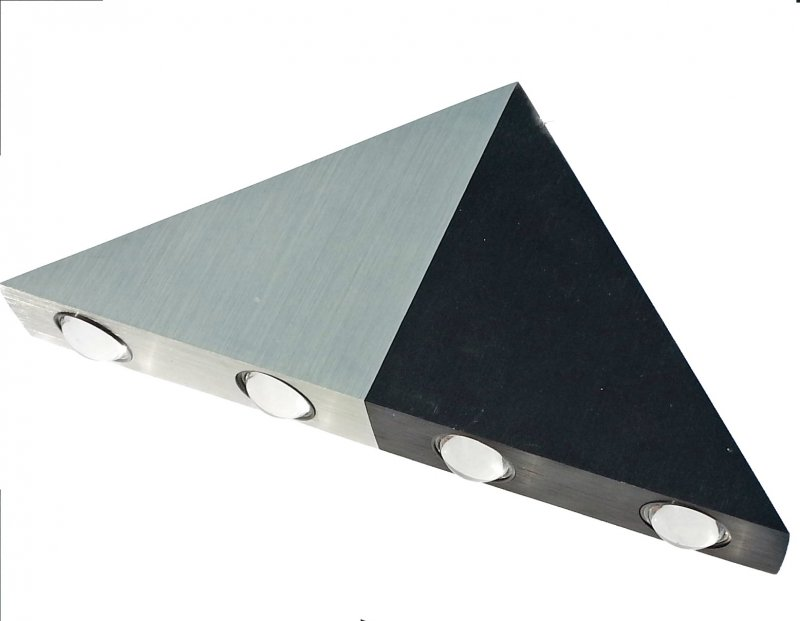 Wandleuchte Dreieck